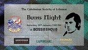 Burns Night 2020 at Bossa Nova Beirut - Scottish Event